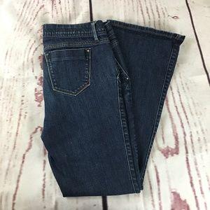 Banana Republic Urban Flared Leg Stretch Jeans 10